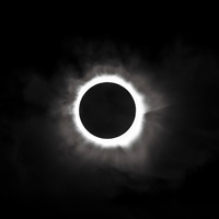 Jul 2 - A total solar eclipse